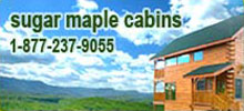 cabin rentals and condo rentals in Pigeon Forge, Tennessee.