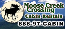 moose creek cabin rentals